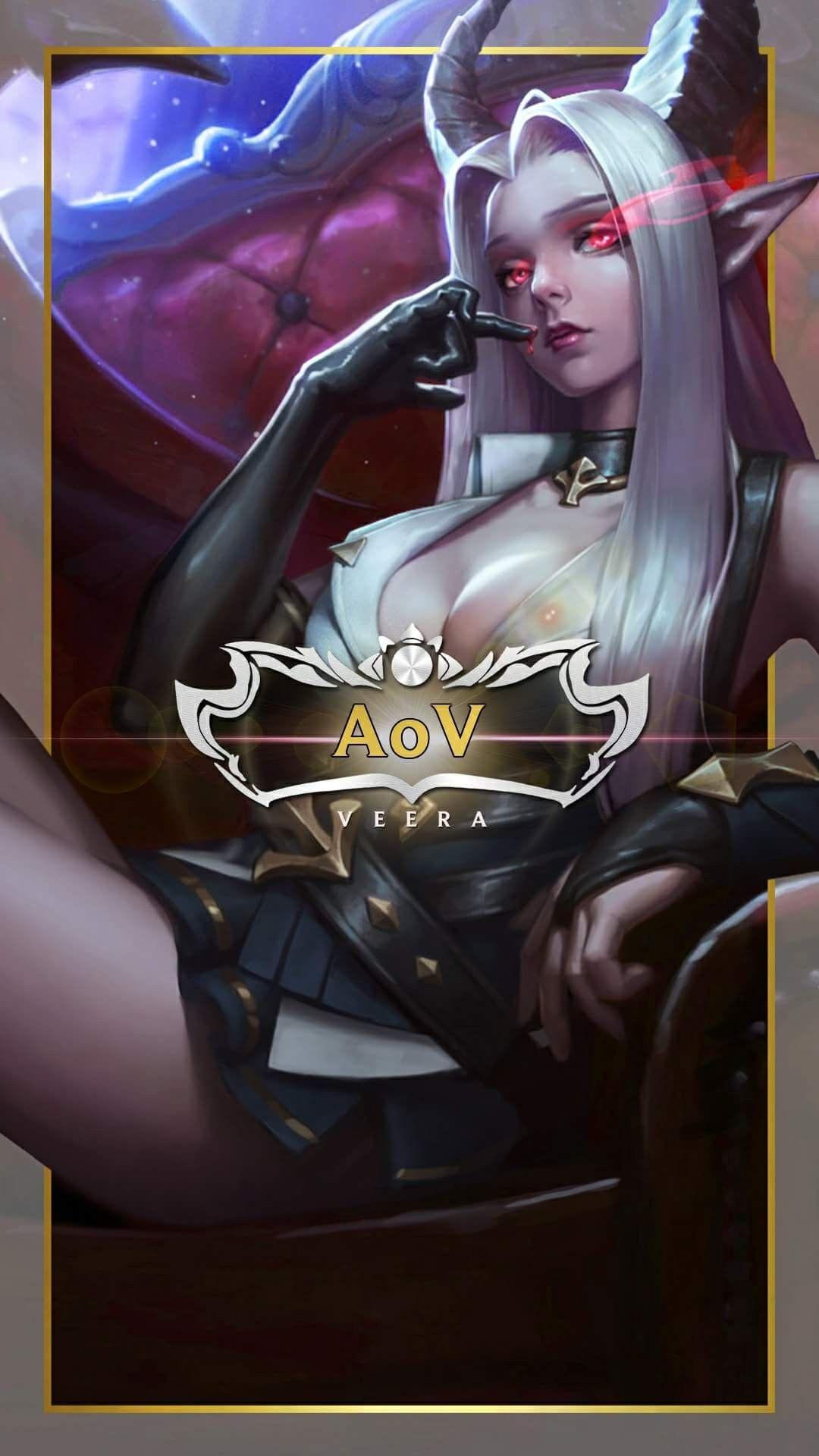 Veera Skin Arena Of Valor The Legend Of Heroes Mobile Legends Characters Tween