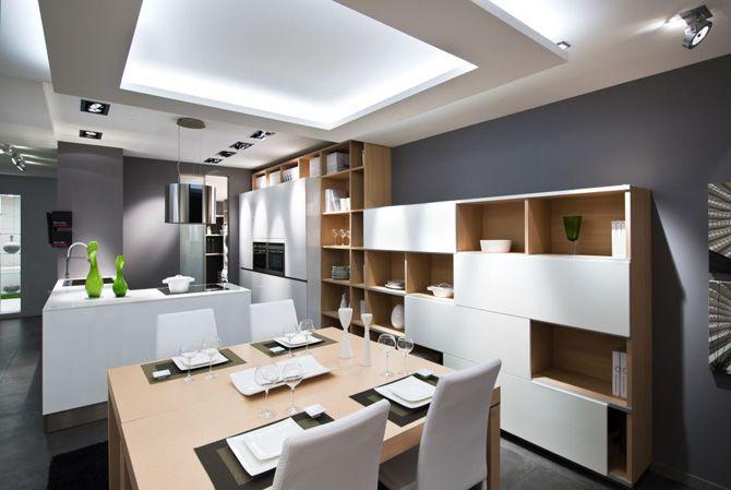 cuisine ouverte style hiving emk - Cuisine Ouverte Sur Salle A Manger Et Salon