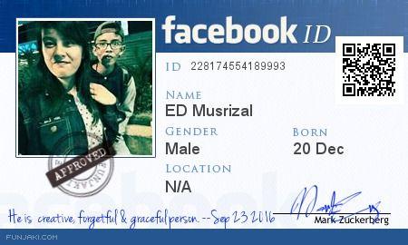 Generate facebook id card - funjaki com | Places to Visit