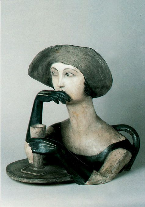 Imaginative and captivating ceramic figurines posted at irregular intervals