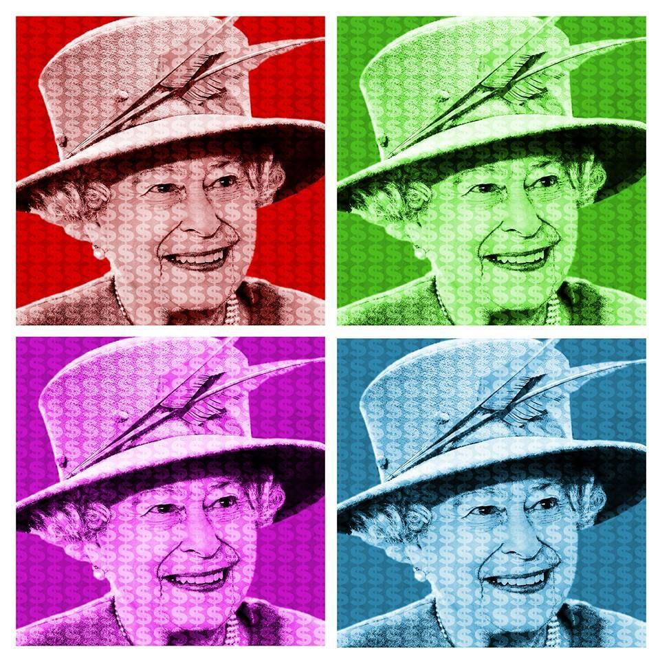 H.R.H The Queen (Dollar version) (With images) Celebrity