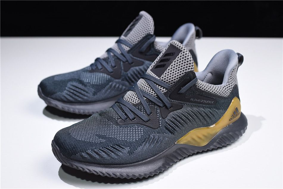 564cd2584 2018 adidas AlphaBounce Beyond Grey Carbon-Solid Grey CG4762 in 2019 ...