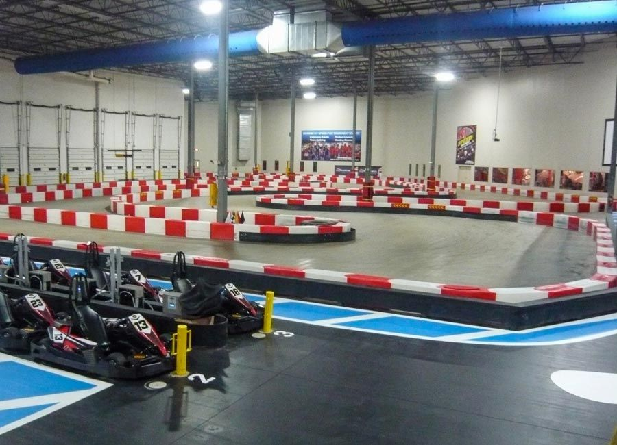 Indoor Kart Racing Go kart racing, Kart racing, Indoor