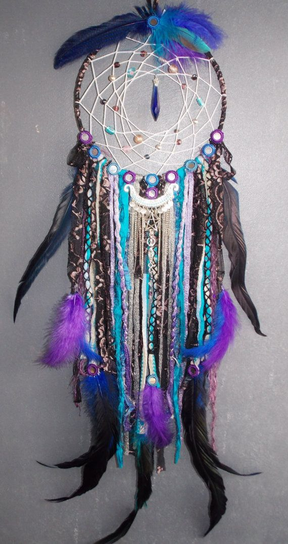 Who Created The Dream Catcher A One of a Kind Urban Goddess Fantasy Dream catcher mobile 25