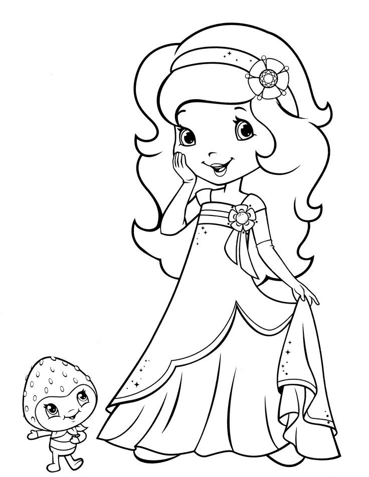 find this pin and more on paint fun by bug1roo2 strawberry shortcake coloring pages