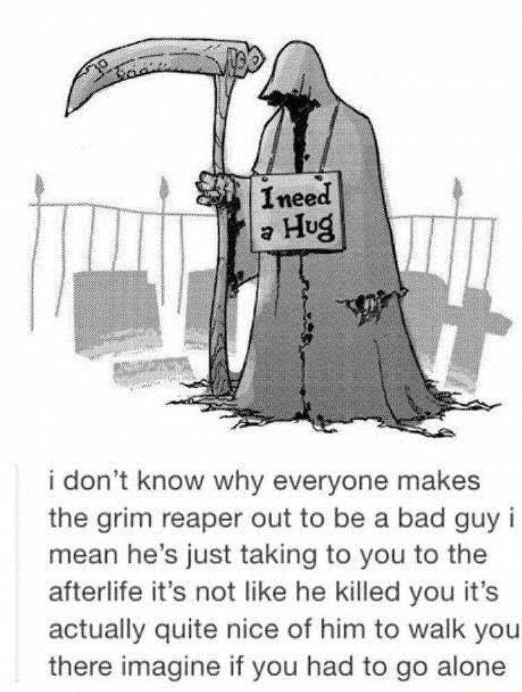 Respectful Memes on Twitter | Memes, Grim reaper, The grim