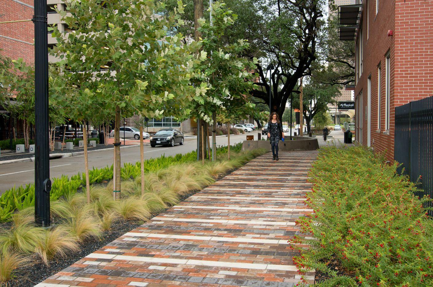 Bagby Street Reconstruction, Houston, Texas | Public Spaces ...