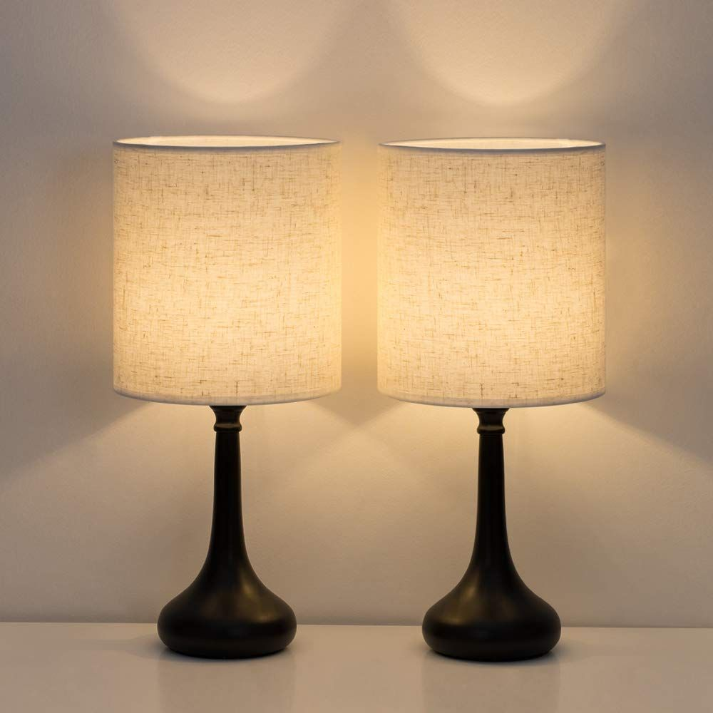Table Lamp Set In 2020 Bedside Table Lamps Lamp Sets Table Lamp