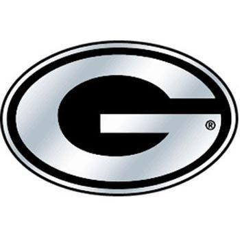 NCAA Georgia Bulldogs Chrome Auto Emblem