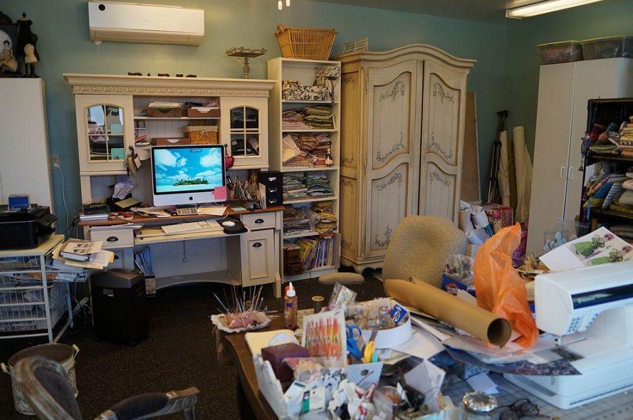 Before: Garage Art Studio Remodel By Kuzaku0027s Closet And Valet Custom  Cabinets U0026 Closets