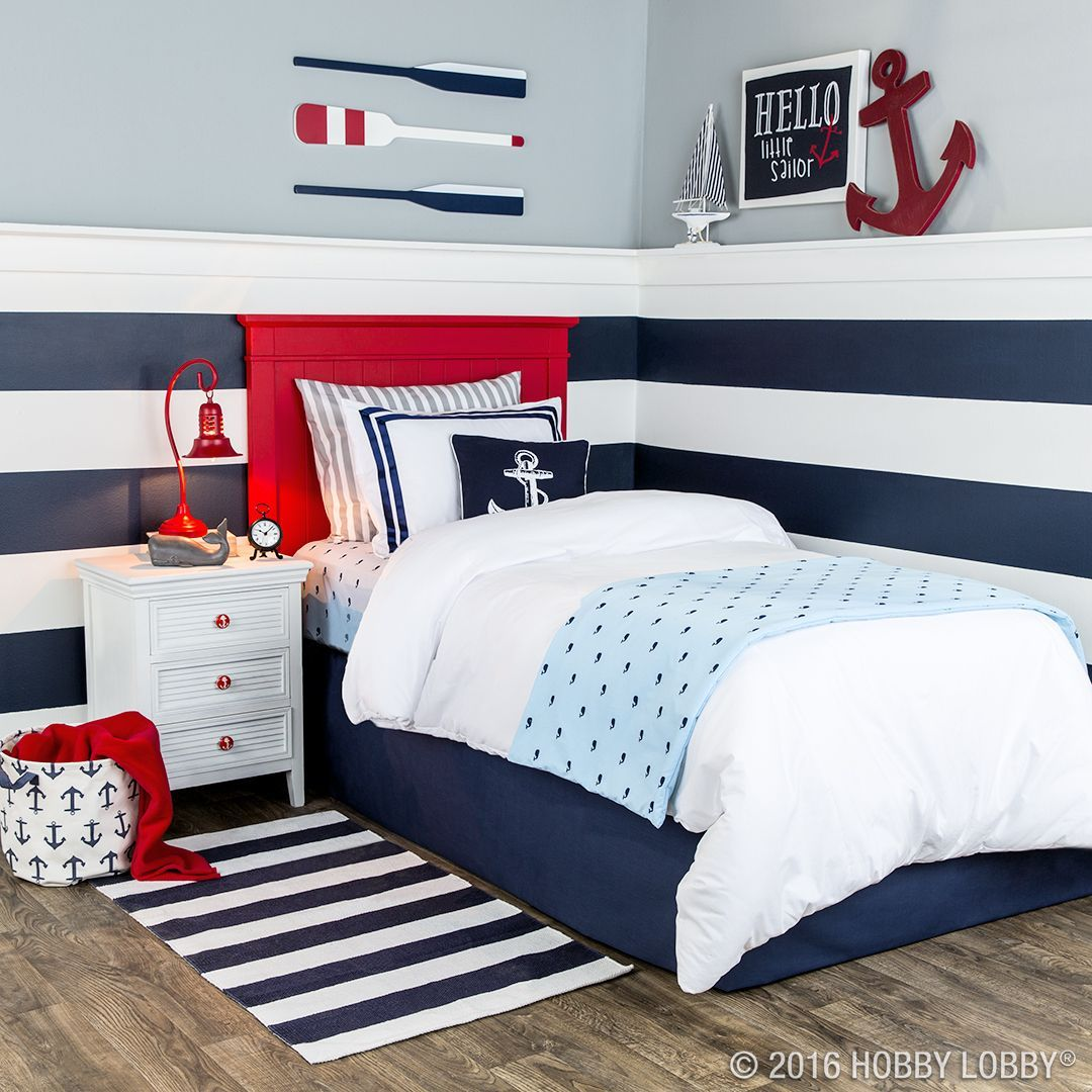 Nautical Boy Bedroom Cool Teenage Bedroom Chairs Baby Bedroom Boy Bedroom Furniture Beach Theme: Your Favorite Little Sailor Will Love Anchoring Down In