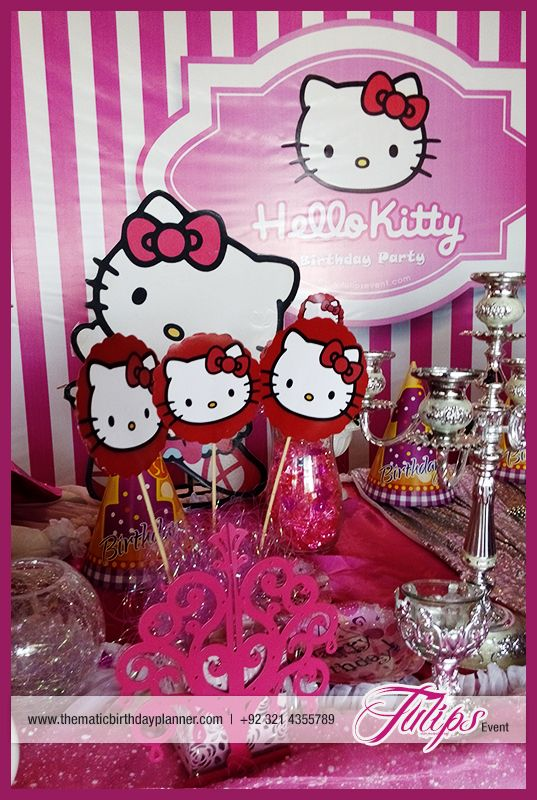 Hello Kitty Birthday Party Theme Planner in Lahore Pakistan Party