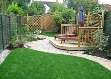 Small Garden Hard Landscaping PDF | Garden seating area