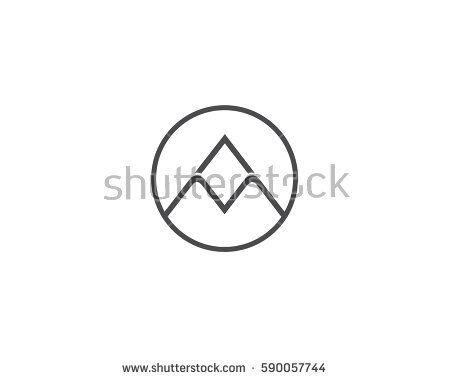 Logo Vector Am Letter Am Logo Icon Design Vector Sign Vector