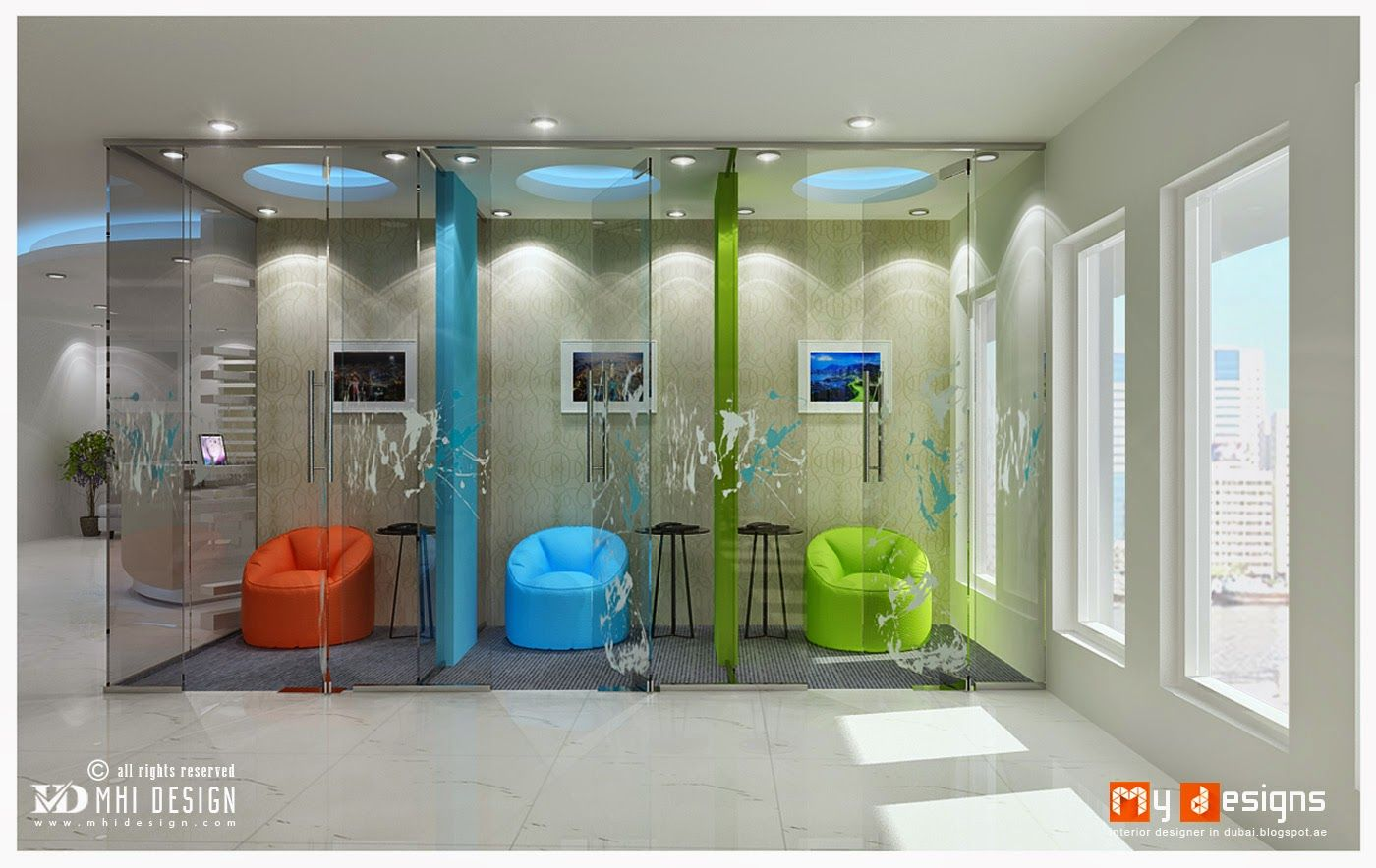 Dubai office interior space designs hi friends this is for One agency interior design dubai