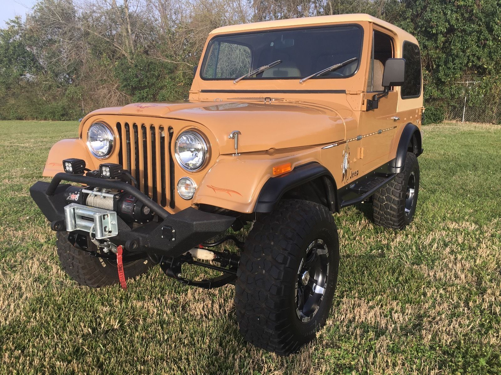 Restored 1978 Jeep CJ CJ7 offroad | Offroads for sale | Pinterest