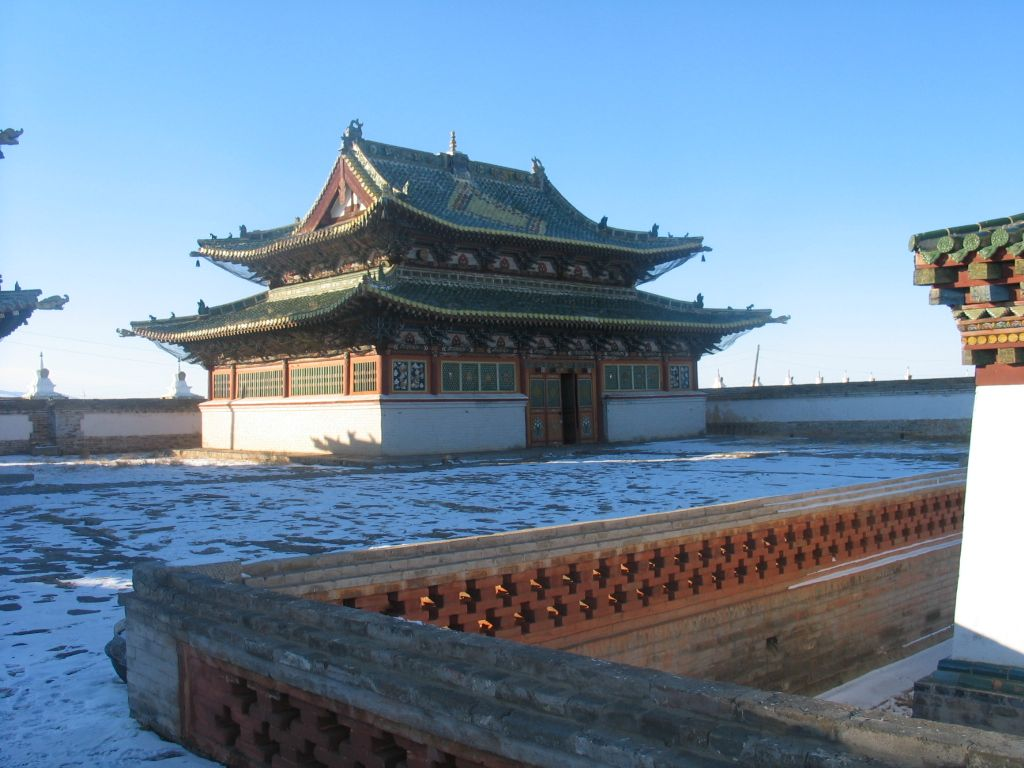 Mongolia (Republic): the capital, attractions
