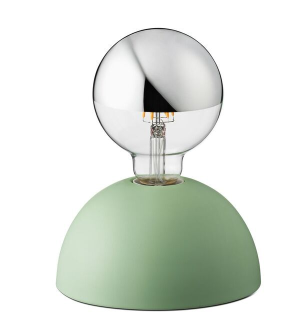 Jokjor Pat Smoke Green Is A Touch Sensitive Table Light That Comes Along With A Half Chrome G95 Led Light Source There Are Three Touch Lamp Lamp Bases Lamp