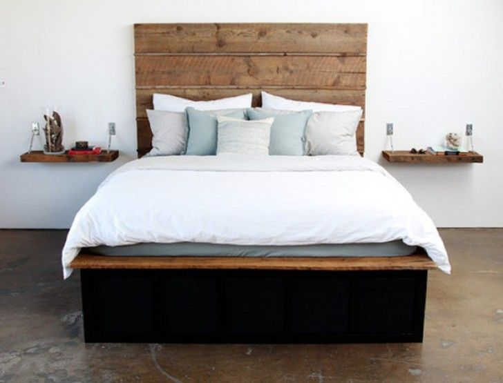 Furniture Good Looking Design Ideas Of Rustic Wooden Beds