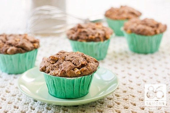 Banana-Apple Buckwheat Muffins (vegan, gf)