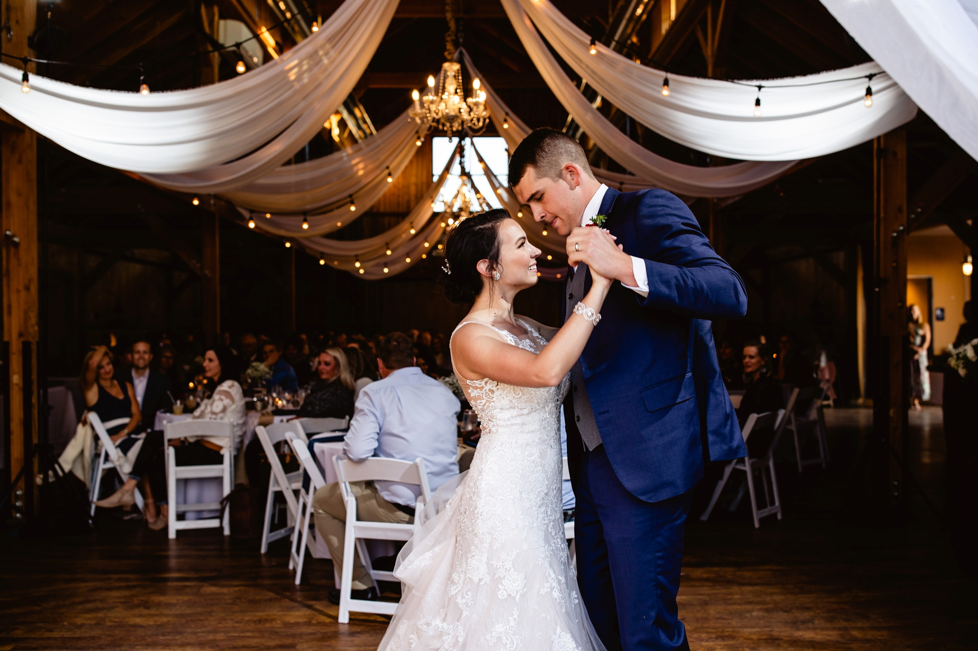 Fall Wedding At The Big Red Barn in 2020 | Red barn ...