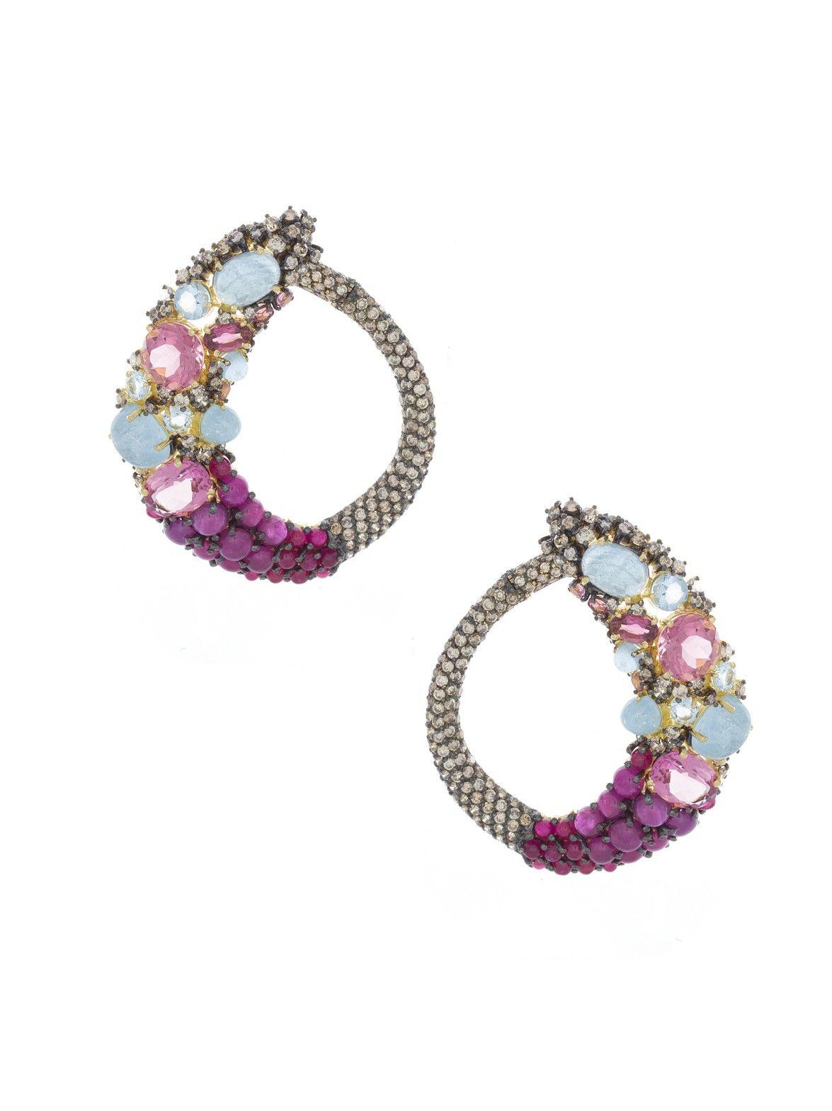 Brumani Baobab Hoop Earrings 8CrTyg4B