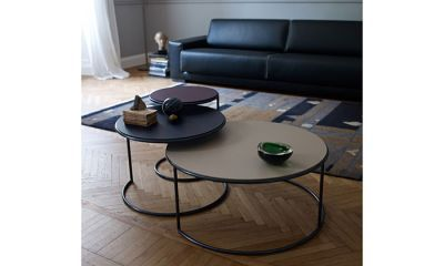check-out df083 f82aa 385€ - Naos table basse ronde gigogne avec structure en fil ...