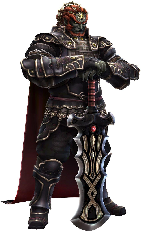 Ganondorf Twilight Armor Characters & Art Hyrule