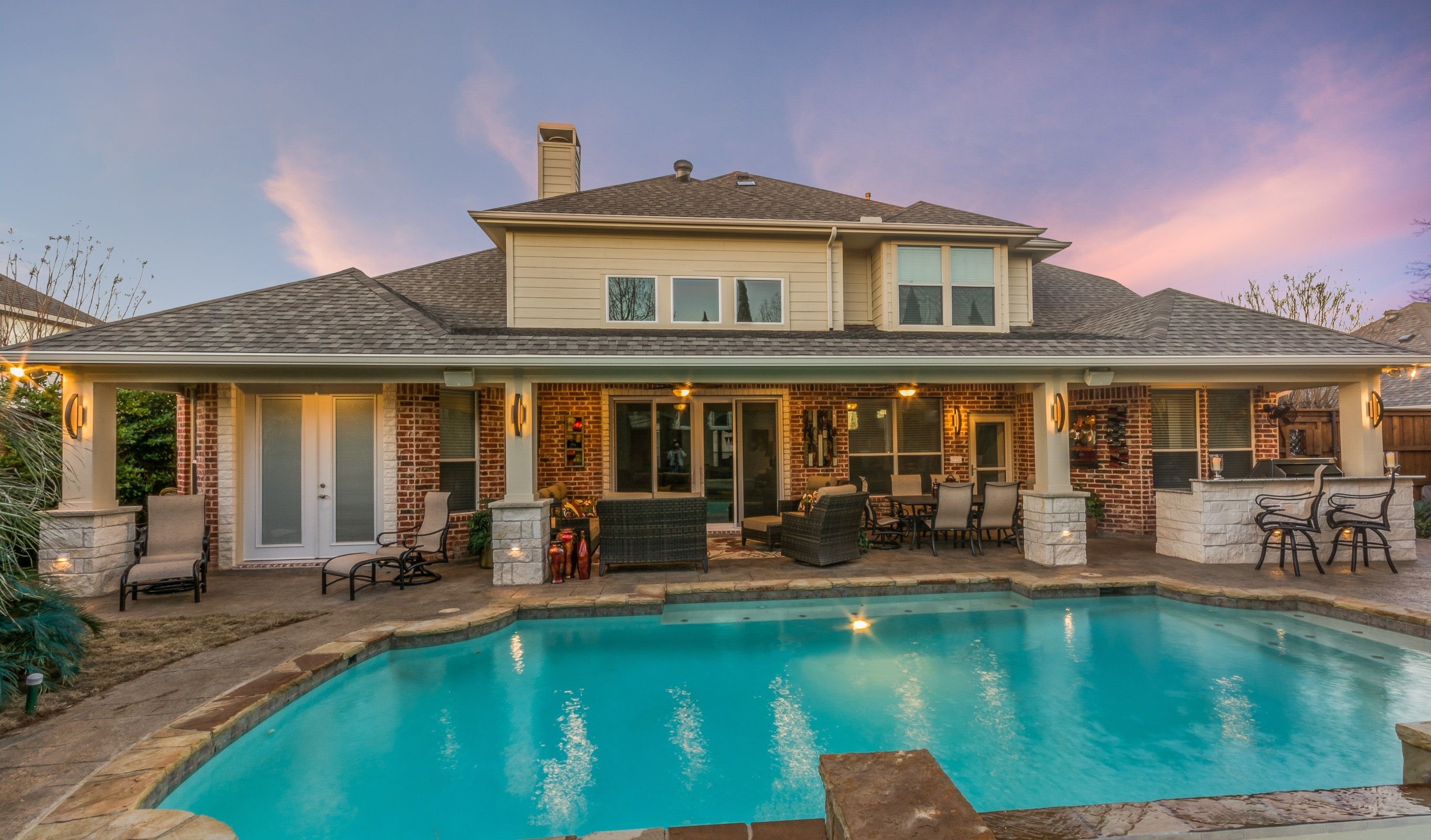 Attached outdoor remodel with outdoor living space and ... on Attached Outdoor Living Spaces id=79356