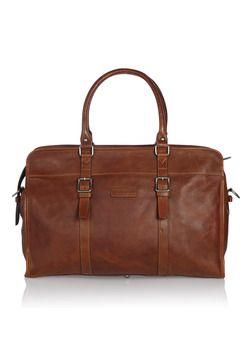Travelbag leather Leren reistas