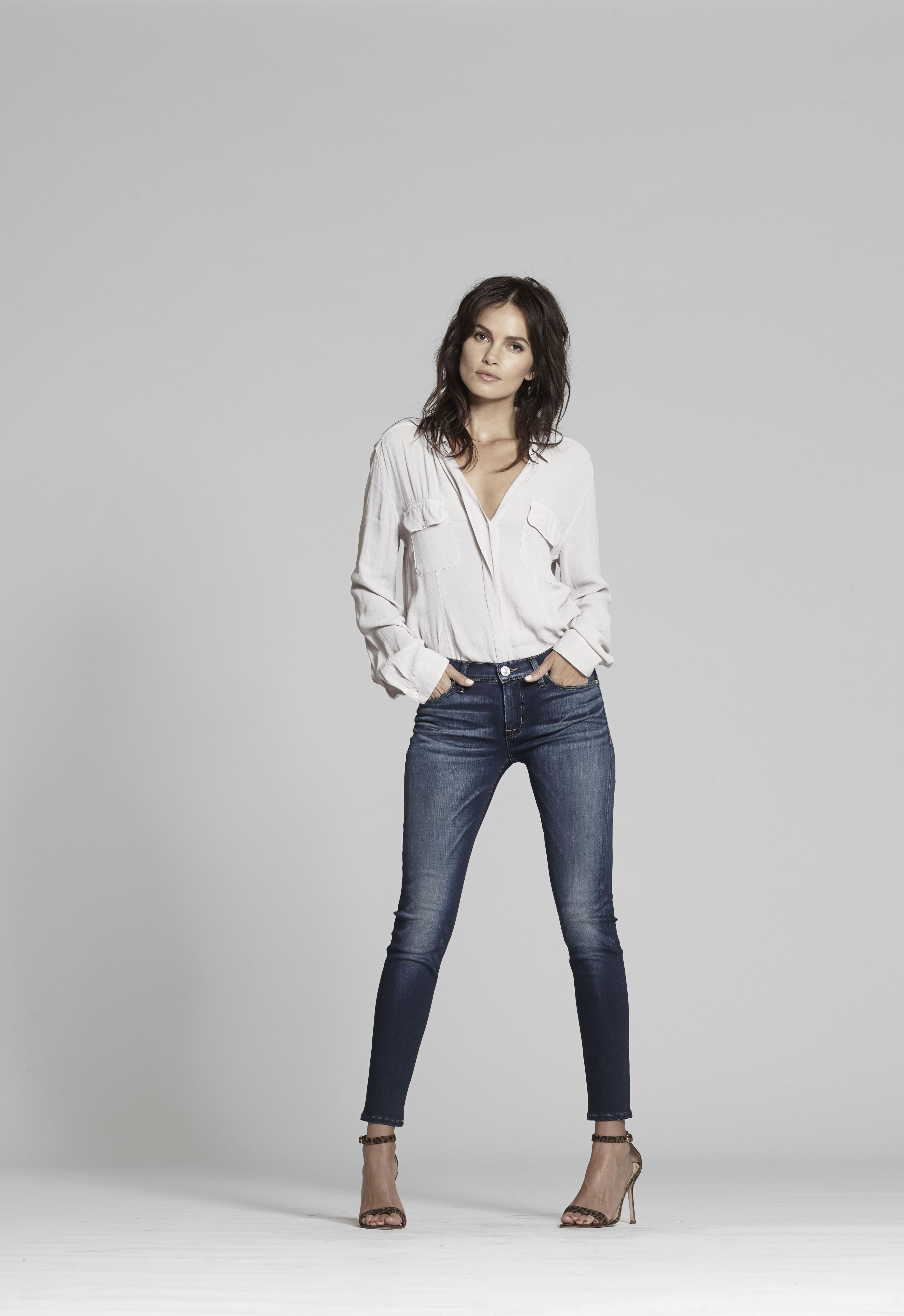 Krista Ankle Skinny in Fortress
