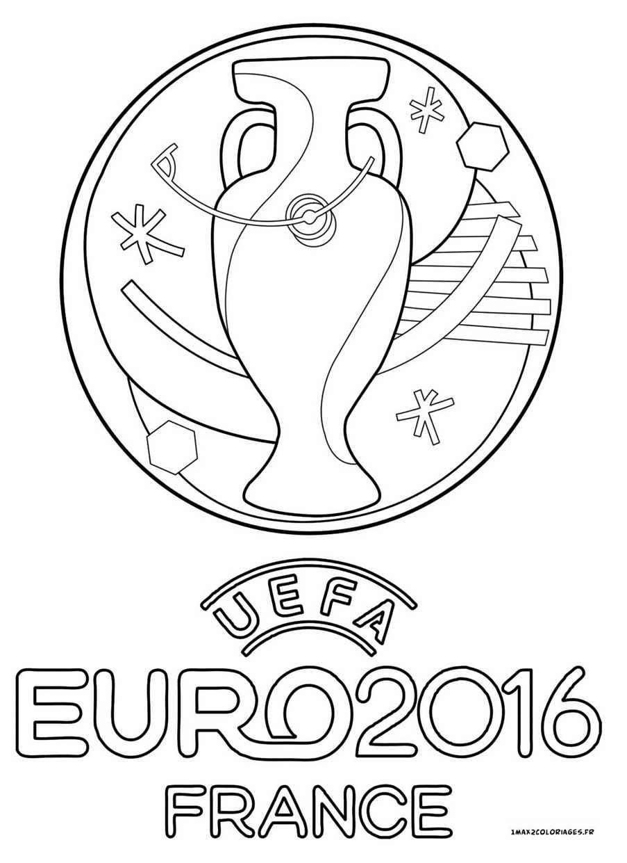 Logo Officiel De Leuro 2016 Uefa Euro Football és Logos