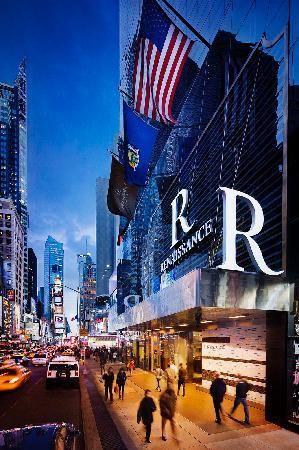 Renaissance Times Square New York Location Ious Rooms Unbelievable