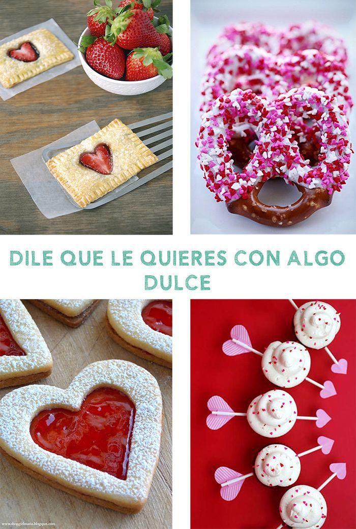 Ideas para San Valentin: regalos dulces hechos en casa. #Receta ...