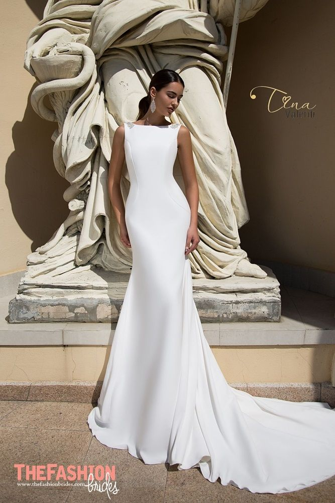 Spanish wedding dress fashion house Tina Valerdi masters in the art ...