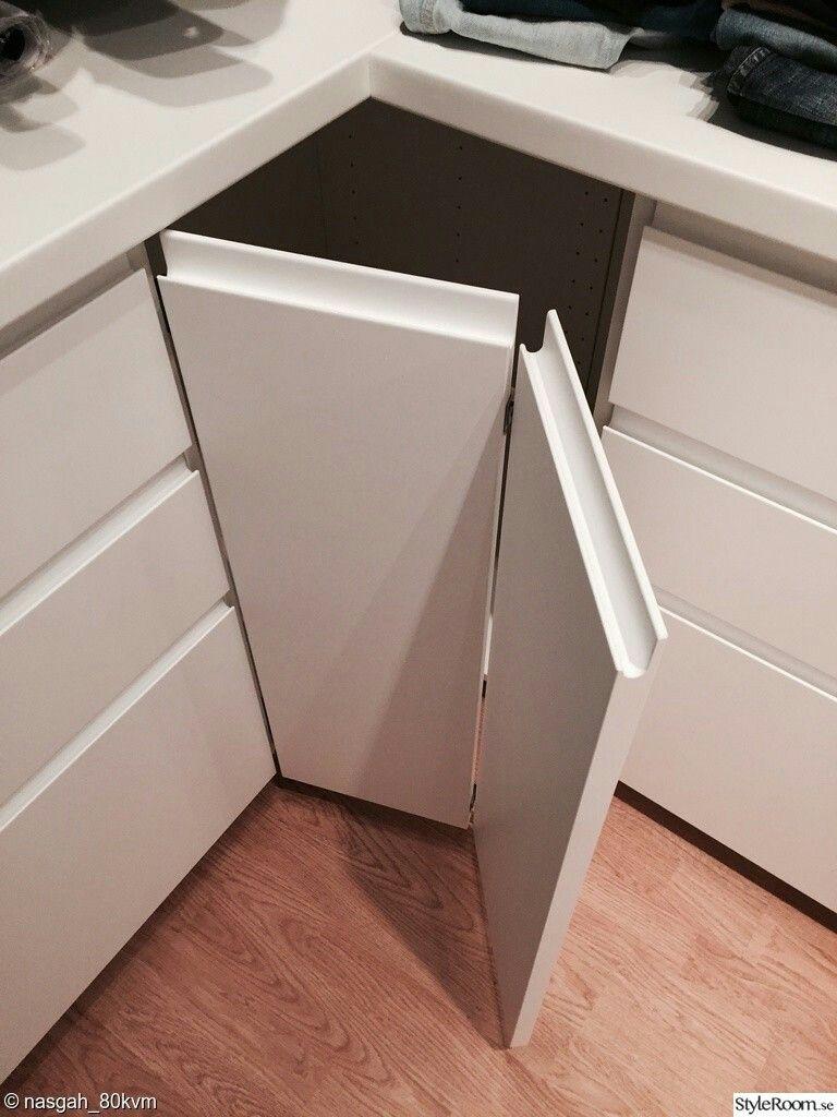 Ikea Voxtorp Corner Cabinet White Ikea Kitchen Handleless