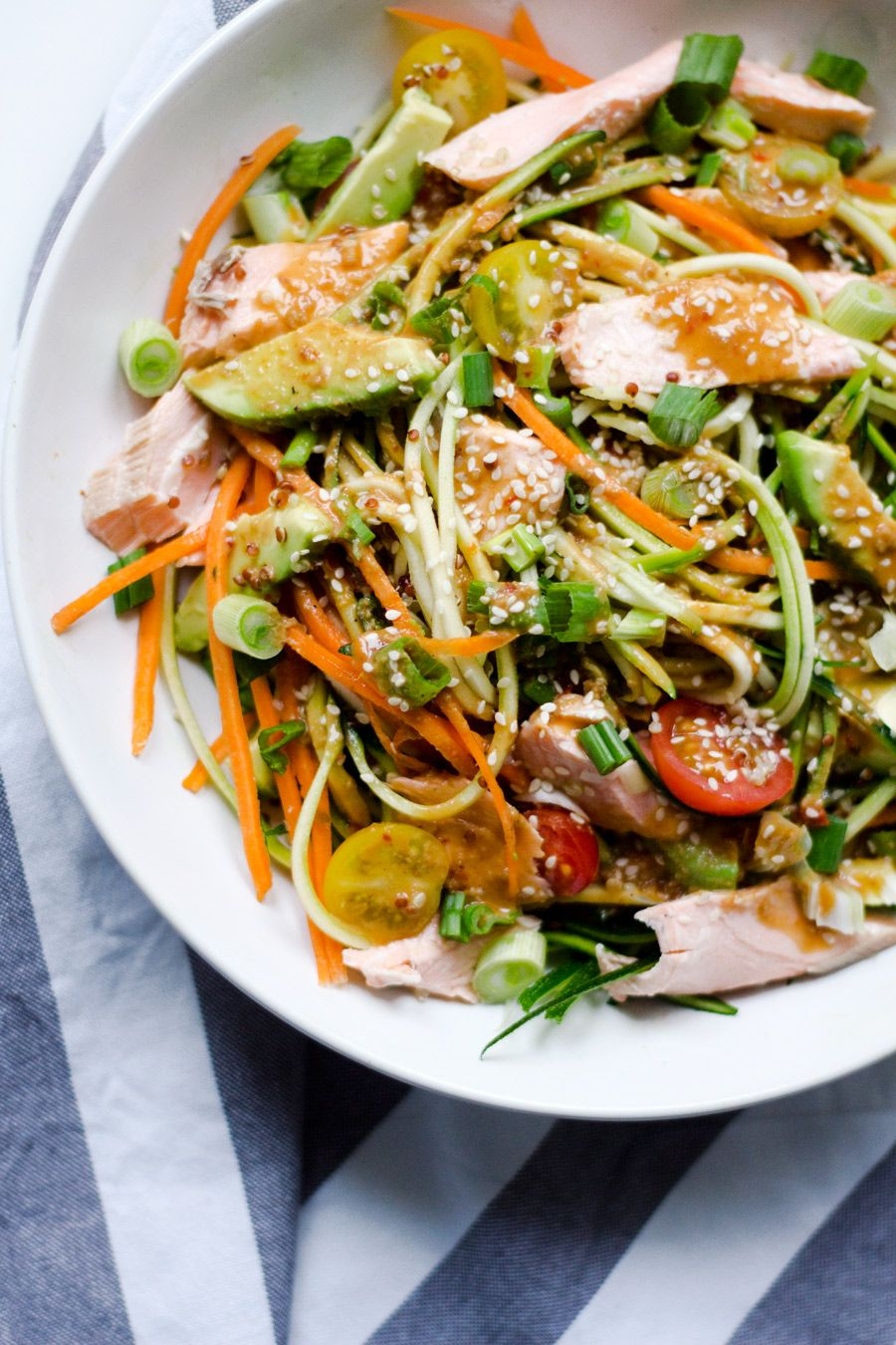 Let me kick off this recipe by saying life doesn't start until you have a julienne vegetable...