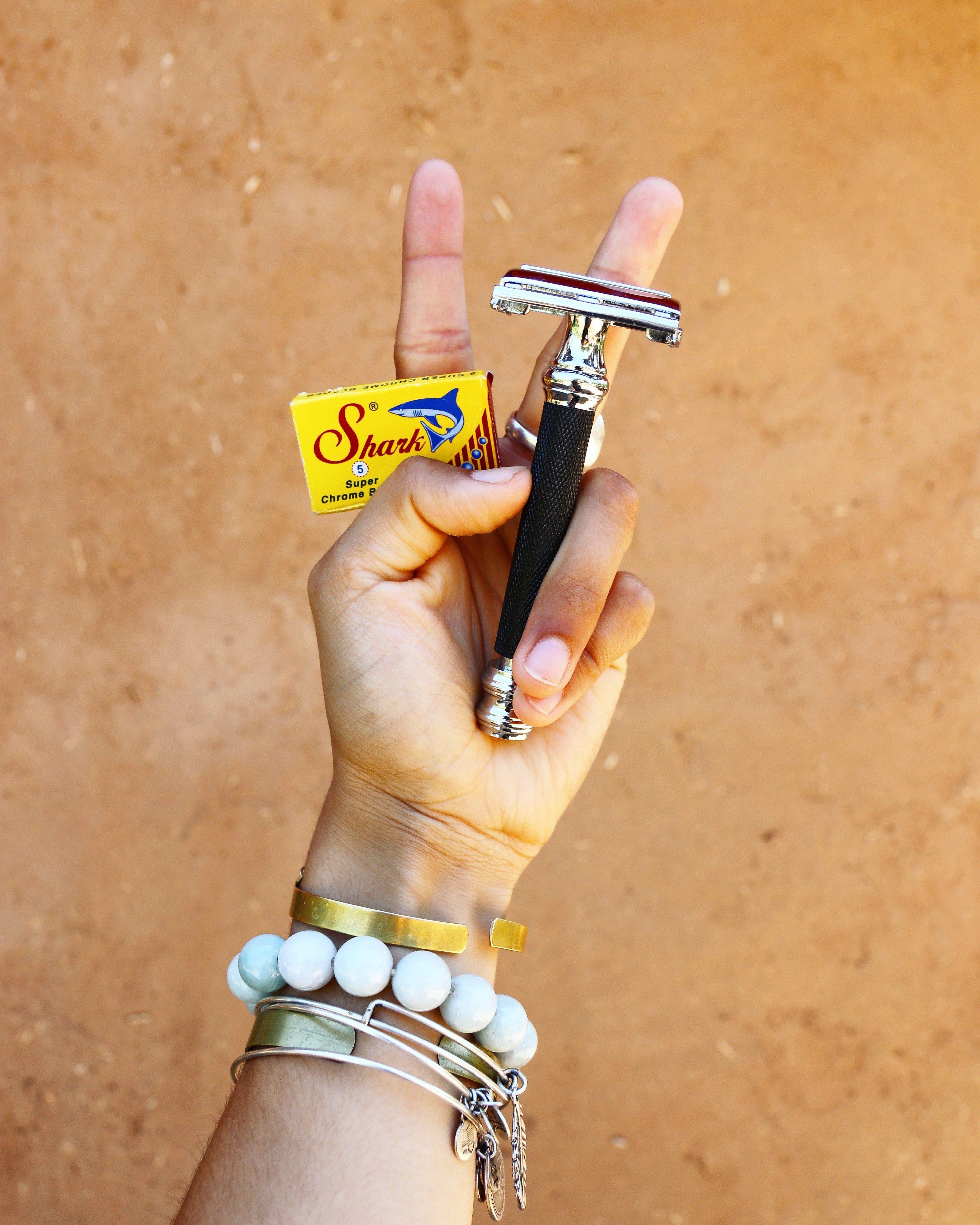 How to use a safety razor zero waste shaving safety