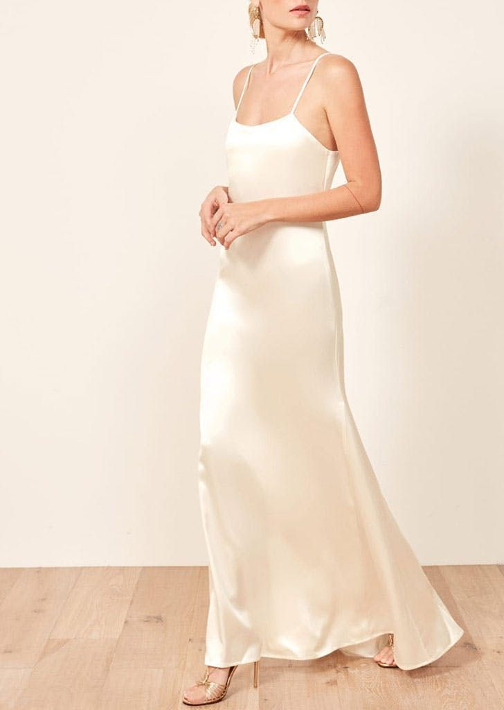 Carolyn Bessette39s wedding dress from the 90s is back here are 10 versions for less than Carolyn Bessettes wedding dress from the 90s is back here are 10 versions for le...