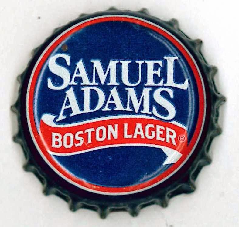 Samuel Adams Boston Lager Bottle Cap Samuel Adams Boston Lager Bottle Cap Samuel Adams