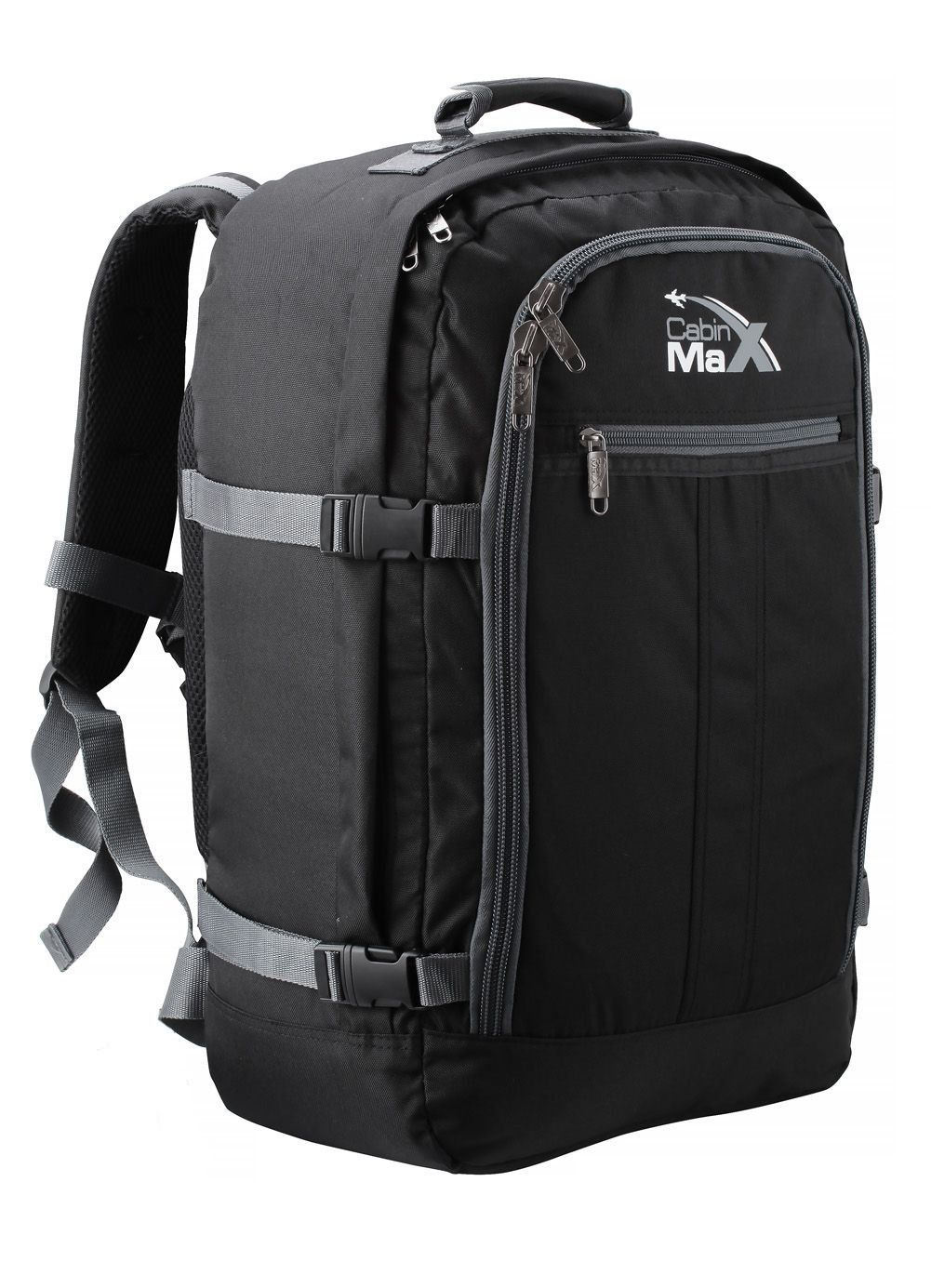 18d3ec23d9 Cabin Max Backpack Flight Approved Carry On Bag Massive 44 litre Travel  Hand Luggage 55x40x20 cm  Amazon.co.uk  Shoes   Bags