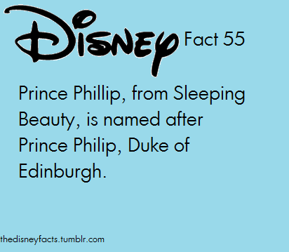 The Disney Facts 55 (my favorite prince <3 )