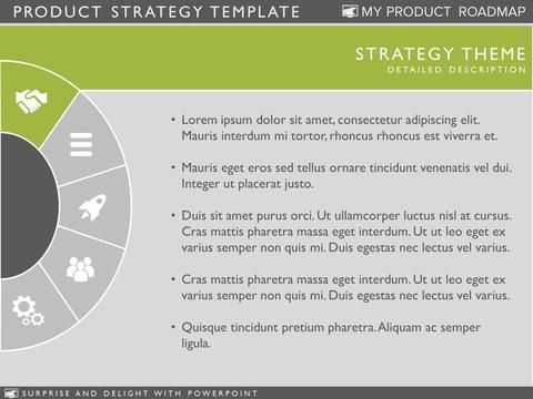 Product Strategy Template  Presentation