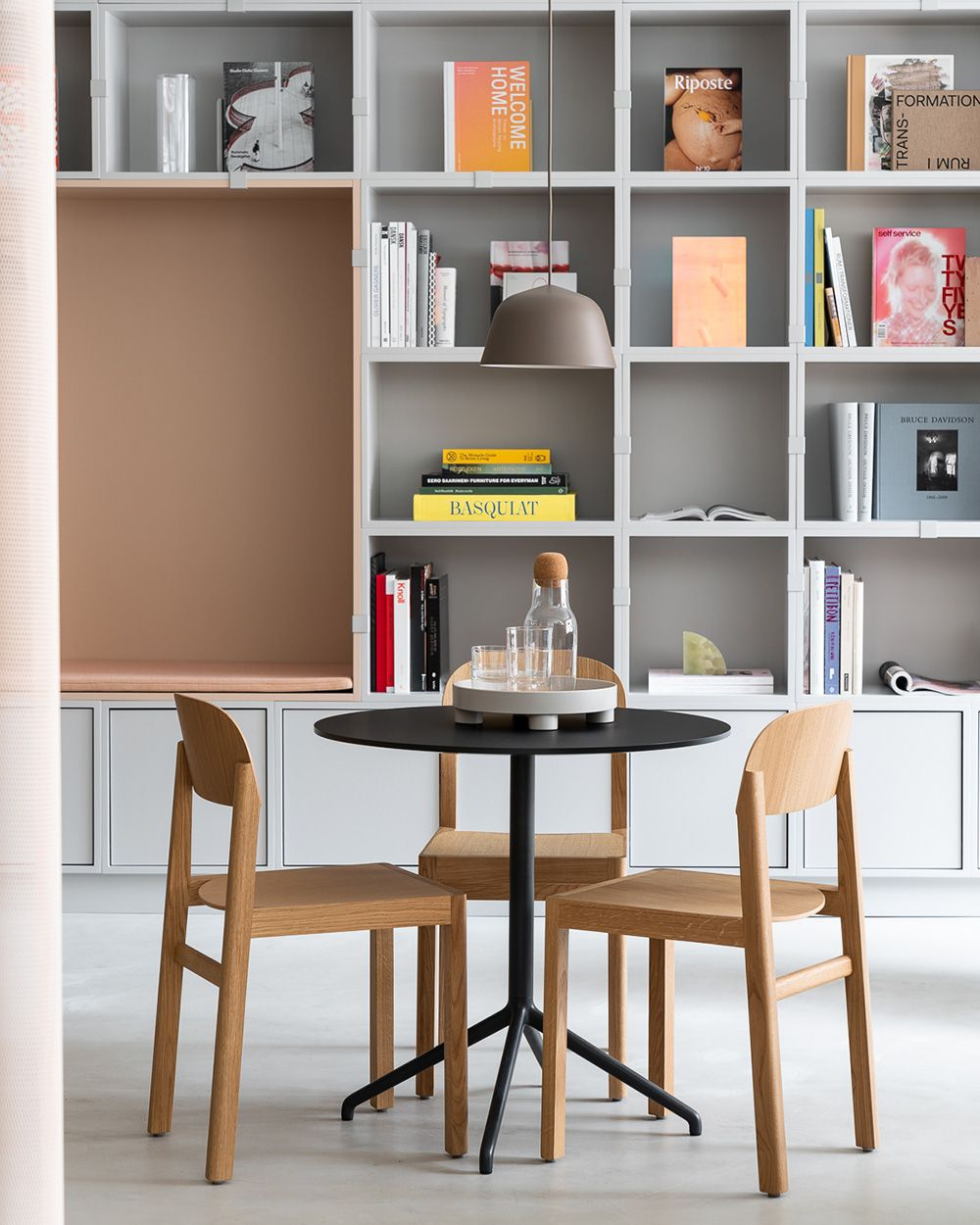 Modern Scandinavian Office Space Decor Inspiration From Muuto The Work Interior Design Office Space Scandinavian Furniture Design Scandinavian Interior Design