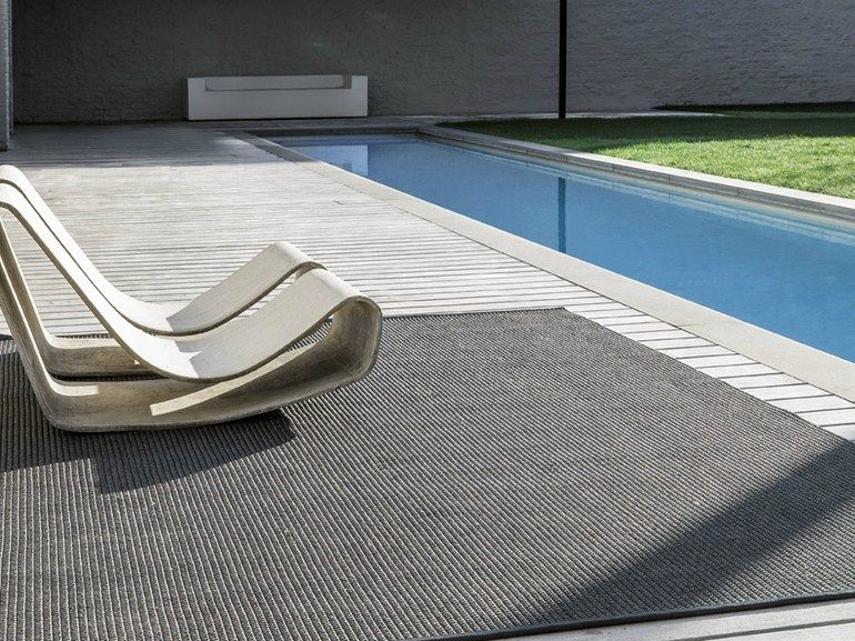 Solid Color Outdoor Rugs POOLSIDE By LIMITED EDITION
