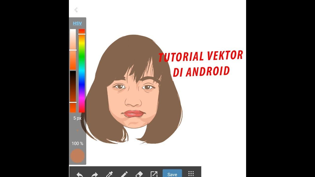 Tutorial Vector Di Android Medibang Time Lapse Part 1 Android Tutorials Tutorial Vector