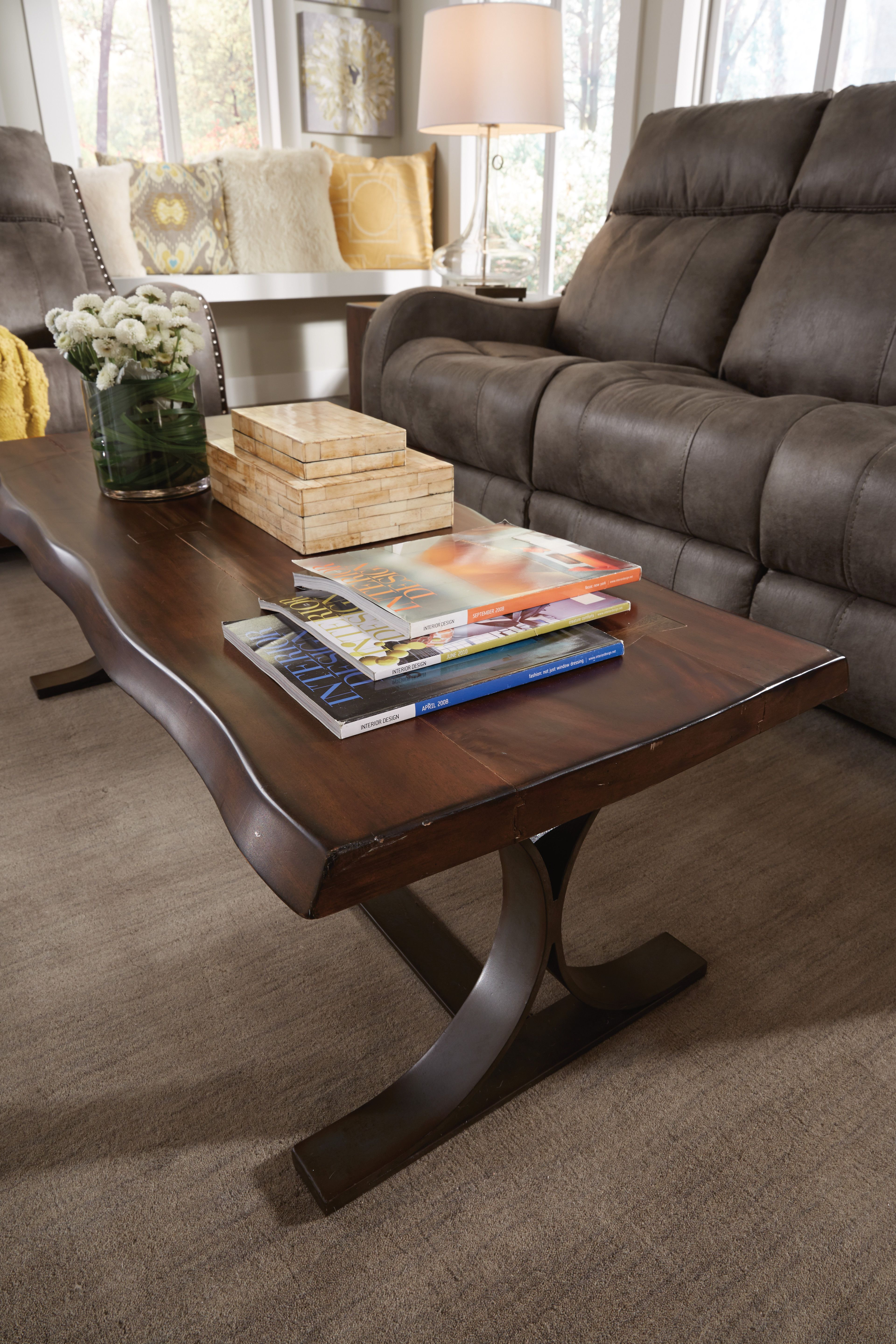 The Farrier Coffee Table S Signature Butterfly Key Joinery And Thick Wavy Edges Make It A Bold Statement In Any Room Coffee Table Furniture Table [ 5760 x 3840 Pixel ]