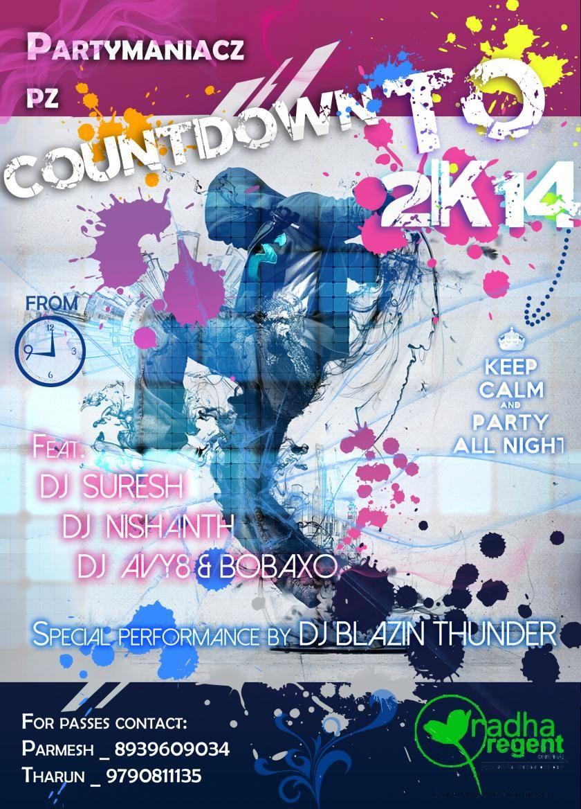 Partymaniacz Countdown To 2k14 New Year Special Countdown Special