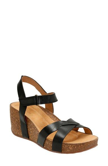 f01d79a4f2 Clarks® 'Temira Compass' Platform Wedge Sandal (Women) available at  #Nordstrom