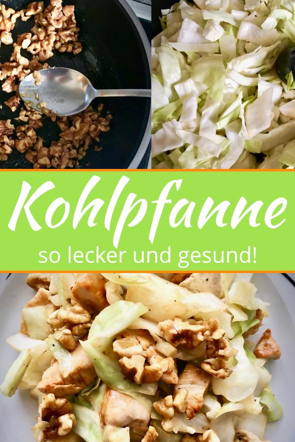 Kohlpfanne Mit Karamellisierten Walnussen Rezept Rezepte Lebensmittel Essen Und Essen